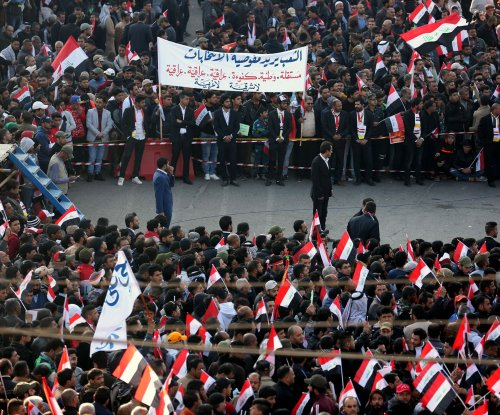 Fatalities reported after mass protest in Baghdad