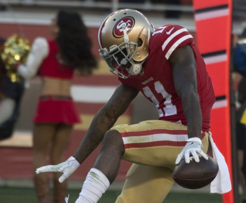 49ers WR Goodwin receives Halas Award