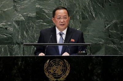 Top North Korea diplomat arrives in Beijing