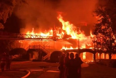 Home of golfer Davis Love III destroyed by fire; no injuries