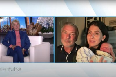 Alec Baldwin, wife Hilaria introduce newborn son on 'Ellen'