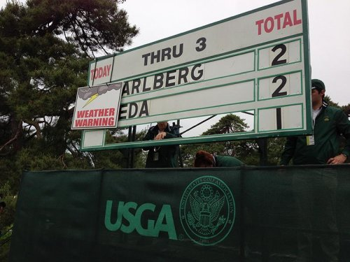 U.S. Open facing bad weather for opening round