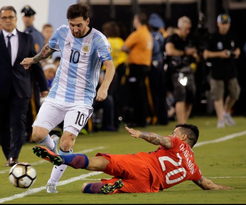 Lionel Messi suspended four games for berating official