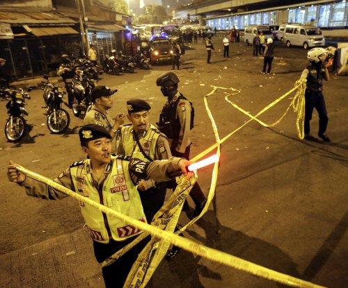 Police: Suicide bombing hits Jakarta bus station, killing officer