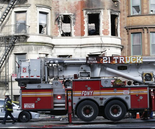 NYC firefighter dies after 5-alarm fire at Harlem movie set