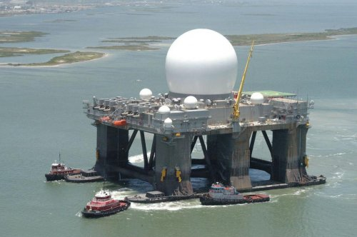 TOTE Services contracted for SBX-1 ballistic missile tracking radar