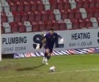 Soccer player kicks 105-yard goal, breaks Guinness World Record