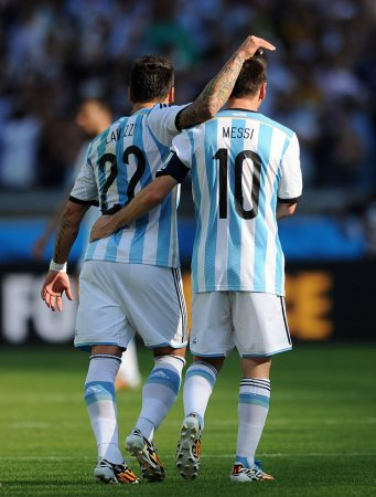 Argentina comes out over Nigeria