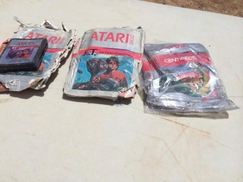 Atari games rescued from landfill net $37,000