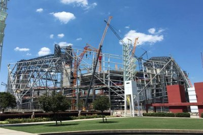 Atlanta Falcons have contingency plan if Mercedes-Benz stadium delayed