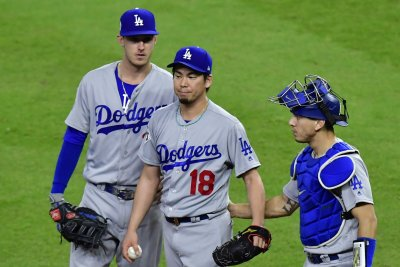 World Series: Heavily worked Los Angeles Dodgers bullpen implodes