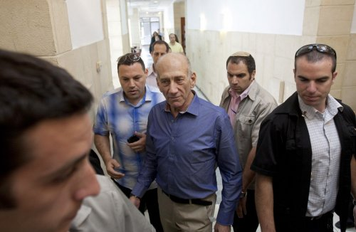 Former Israeli PM Olmert innocent of corruption, guilty of breach of trust