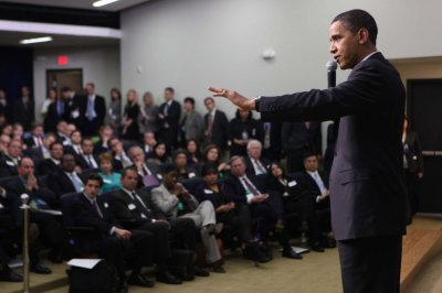 Obama: Jobless rate 'modestly encouraging'