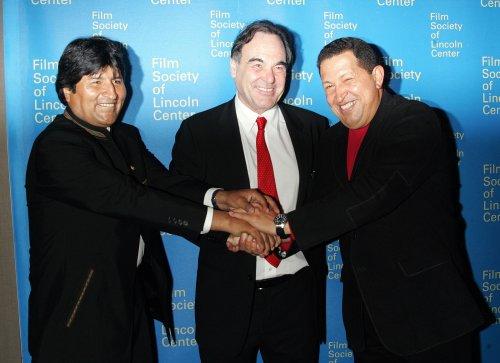 Stone, Penn mourn death of Venezuelan President Hugo Chavez