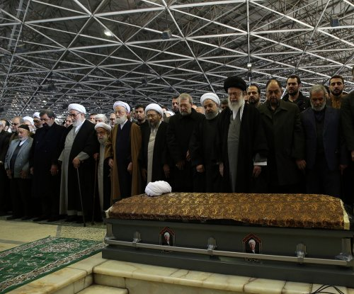 Ex-Iranian President Rafsanjani's funeral draws hundreds of thousands