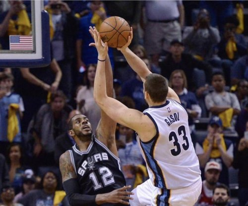 Marc Gasol's last-second shot lifts Memphis Grizzlies over San Antonio Spurs