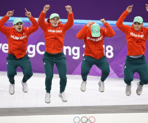 Hungary captures 5,000m speed skating gold