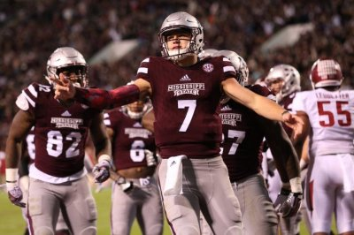 Mississippi State Bulldogs QB Nick Fitzgerald set to debut following suspension
