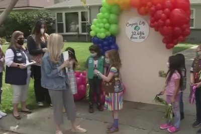 California Girl Scout sells record 32,484 boxes of cookies in one season