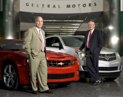 GM, Chrysler: New leaders on two tracks