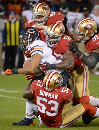 NFL: San Francisco 32, Chicago 7