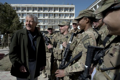 Hagel orders probe of USAF assault case