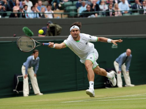 Ferrer heads into third round at Wimbledon