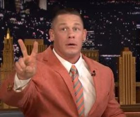 John Cena talks WrestleMania, childhood on 'Tonight Show'