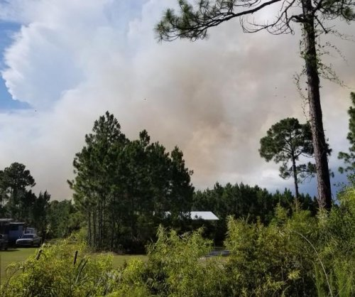 Fast-moving Florida wildfire burns nearly 40 homes