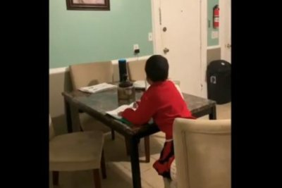 Watch: Boy, 6, gets illicit homework help from Alexa - UPI com