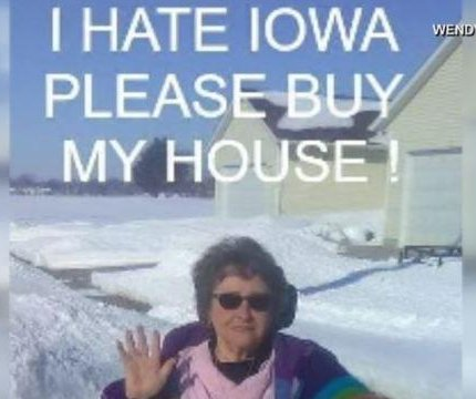 Woman's 'I hate Iowa' post draws attention to house listing