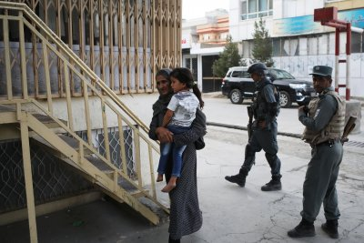 Two dead, 25 injured in explosion at Afghan vice presidential candidate's office