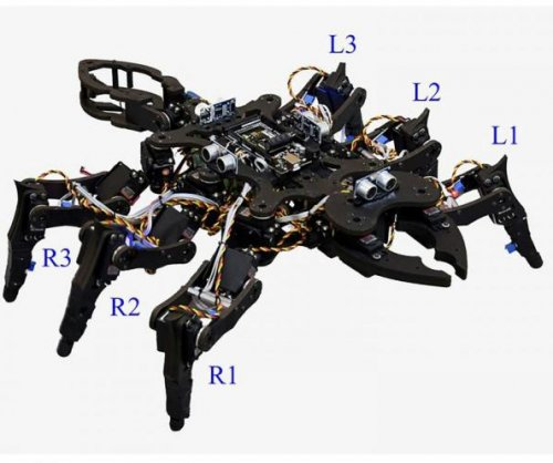 Physics of chaos help scientists create insect-like gaits for robots