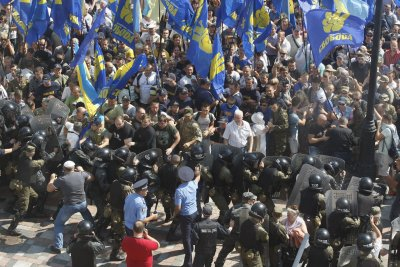Ukraine to nearly double size of police force