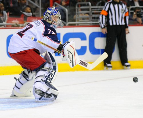 Sergei Bobrovsky, Columbus Blue Jackets thwart Philadelphia Flyers
