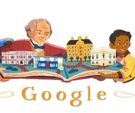 Google celebrates philanthropist George Peabody with a Doodle