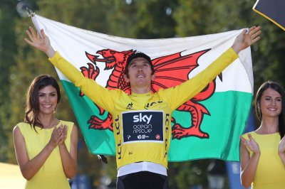 Geraint Thomas wins Tour de France, Chris Froome finishes third