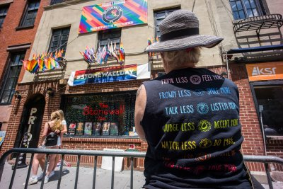 New York City marks 50th anniversary of Stonewall riots