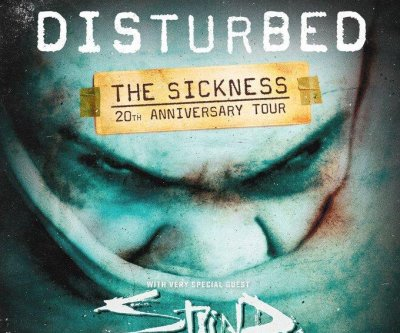 Disturbed to launch 'Sickness' anniversary tour