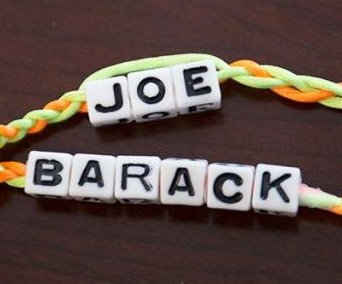 Biden tweets adorable friendship bracelet photo for 'BFF' Obama's birthday