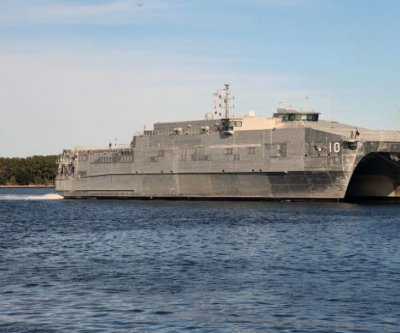 USNS Burlington returns to shipyard for bow modifications