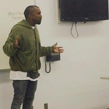 Kanye West teaches class at LATTC as part of community service