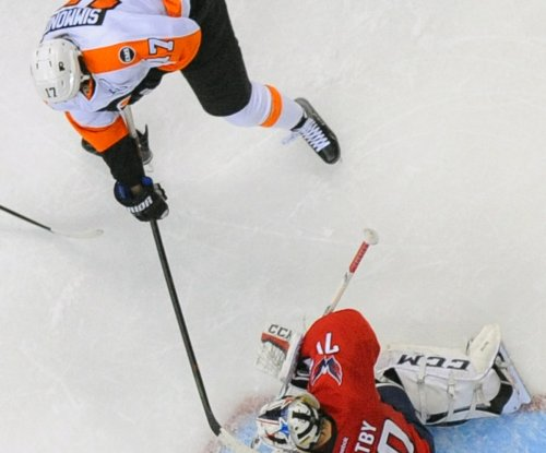 Braden Holtby makes 41 saves as Washington Capitals defeat Philadelphia Flyers again