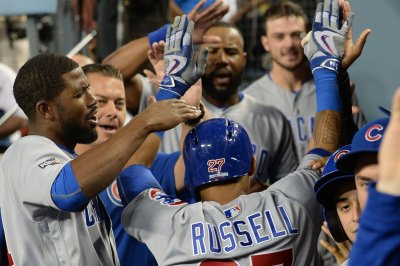 Chicago Cubs dump Los Angeles Dodgers, claw within a win of World Series