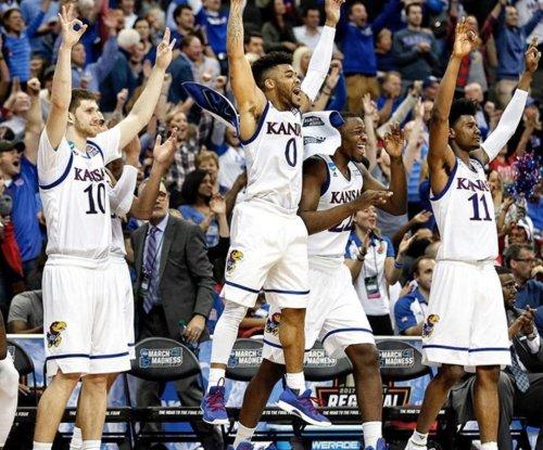 Kansas routs Purdue to reach Elite Eight
