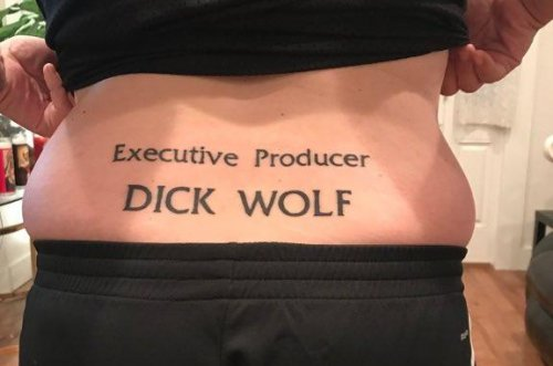 Man gets unusual tattoo tribute to 'Law & Order: SVU'