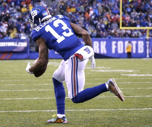 Odell Beckham Jr. absent for New York Giants' first OTA