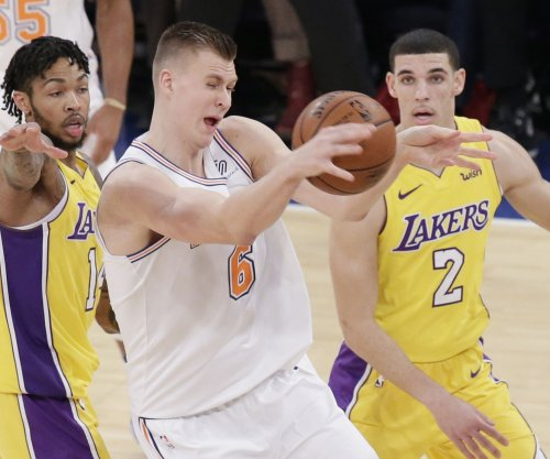 Kristaps Porzingis, New York Knicks slip past Los Angeles Lakers in OT