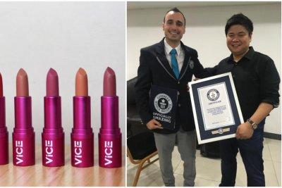 7,000 don lipstick to break Guinness record