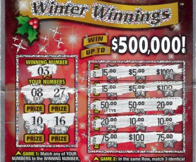 Man lets clerk choose lottery ticket, wins $500,000